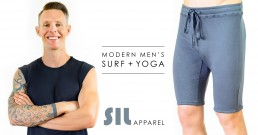 SIL Apparel Surf Yoga Be Visual Co Website Graphic Design Photography