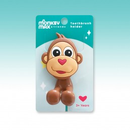 Monkey Max toothbrush holder