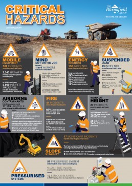 Bloomfield Group 5 to stay Alive Critical Hazards