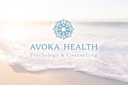 Avoka Health Psychology counselling gold coast northern nsw brand design